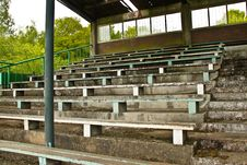Free Seats In Old Football Stadium Stock Images - 14511544