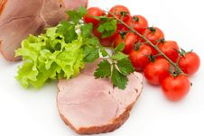 Free Meat And Vegetables Stock Photo - 14511620