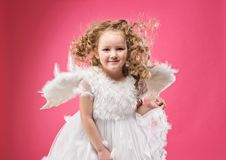 Free Beautiful Little Angel Girl Stock Photos - 14511753