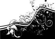 Free Black And White Decorative Design Royalty Free Stock Images - 14511779
