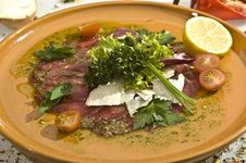 Free Carpaccio Mexican Speciality Royalty Free Stock Photography - 14514747