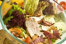 Free Chicken Salad Mexican Style Royalty Free Stock Image - 14514856