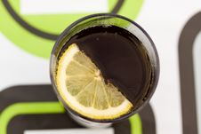 Free Cola With Slice Of Lemon Royalty Free Stock Images - 14514959