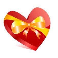Free Heart Box Royalty Free Stock Image - 14515246