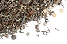 Free Bolts And Nuts Royalty Free Stock Image - 14516586