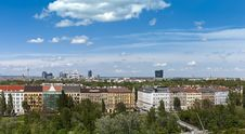 Free Skyline Vienna Prater - Danube Royalty Free Stock Photography - 14516667