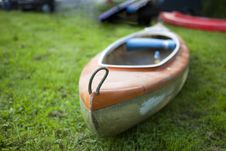 Free Boat On The Grass Royalty Free Stock Photography - 14516807