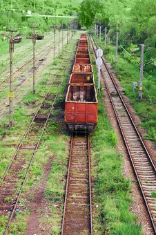 Free Old Industrial Railway Royalty Free Stock Images - 14516879