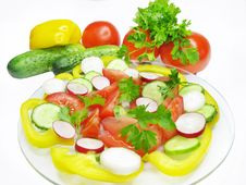 Free Vegetable Salad Stock Photos - 14517383