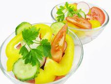 Free Vegetable Salad Royalty Free Stock Photos - 14517438