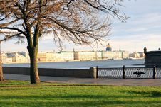Free View Of The River Embankment. Stock Image - 14517461