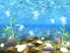 Free The Underwater World Stock Photo - 14517590