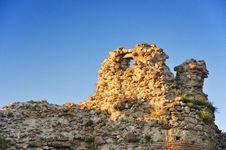 Ancient Thracian Ruins - Tower Stock Photo