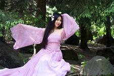 Free Beutiful Japanese Woman Royalty Free Stock Image - 14517826