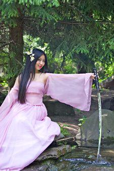 Free Beutiful Japanese Woman Stock Photo - 14517910