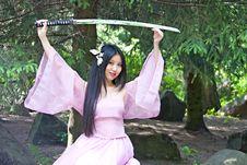 Free Beutiful Japanese Woman Stock Photos - 14517983