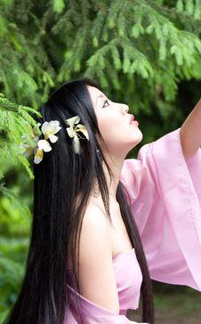 Free Beutiful Japanese Woman Stock Photos - 14518363