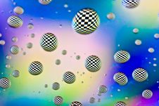 Free Checkered Drops Stock Photography - 14518552