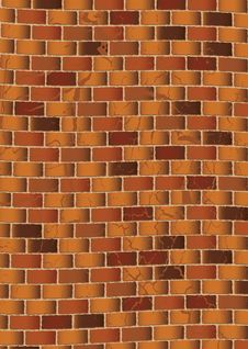 Free Grunge Brown Brick Wall Stock Photo - 14518980
