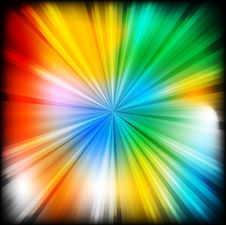 Free Multi-coloured Beams - Eps 10 Stock Photos - 14519873