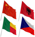 Free 3D Flags Of World Stock Images - 14524824