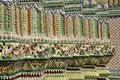 Free Tile Mosaic Pillar Asian Style Stock Photos - 14527423