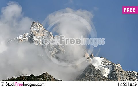 Free Alps Mont Blanc Royalty Free Stock Images - 14521849