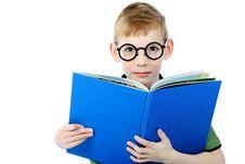 Reading Boy Royalty Free Stock Photography