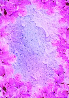 Free Floral Frame With Patina Royalty Free Stock Photos - 14520428