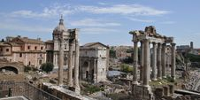 Free Forum Romanum Stock Photo - 14520510