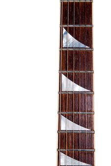 Free An Electric Guitar Neck W/shark Inlays Stock Photography - 14520532