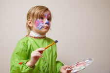 Free Little Artist Royalty Free Stock Photo - 14521535