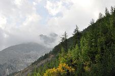 Free Alps Mountains Royalty Free Stock Image - 14521826