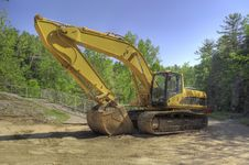 Free Excavator At A Diging Site Royalty Free Stock Photography - 14521867