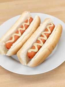 Free Hotdogs Stock Image - 14522861