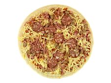 Free Uncooked Fresh Pizza Stock Images - 14522904