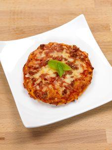 Free Mini Pizzas Royalty Free Stock Photo - 14522985