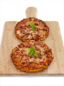 Free Mini Pizzas Stock Photography - 14523002