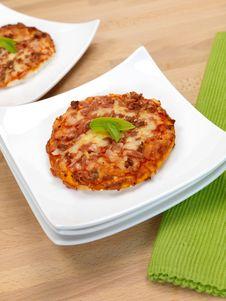 Free Mini Pizzas Royalty Free Stock Image - 14523006