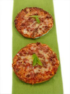 Free Mini Pizzas Royalty Free Stock Image - 14523026