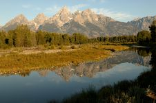Free Grand Teton In All Its Glory Royalty Free Stock Photo - 14523075