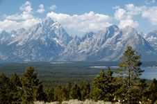 Free Grand View Of Grand Teton Royalty Free Stock Image - 14523106