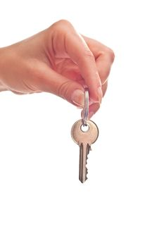 Key In Hand Royalty Free Stock Image
