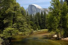 Free Half Dome Majesty Stock Photography - 14523142