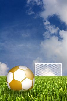 Free Football Illustration Royalty Free Stock Images - 14523199