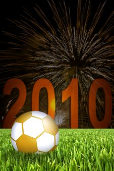 Free Football Illustration Royalty Free Stock Image - 14523206
