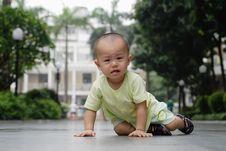 Free Crying Asian Baby Royalty Free Stock Photo - 14523215