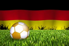 Free German Football Illustration Stock Photography - 14523232