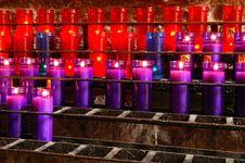 Free Prayer Candles Royalty Free Stock Image - 14523356