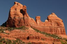 Free Sedona Rock Formation Royalty Free Stock Images - 14523389